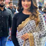 Anu Emmanuel, function, saree, hd, Thupparivaalan actress