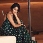 Anu Emmanuel, movie, promotion, saree, glamour
