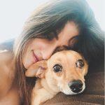 Anu Emmanuel, pet animal, dog