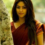 Anu Emmanuel, saree, glamour, traditional, cute, Thupparivaalan actress