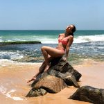 Anya Singh, new Kollywood Heroine, beach, 2 piece, spicy