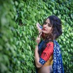 Ashika Ranganath, Rangamandira Actress, photo shoot, saree