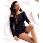 Ashna Zaveri, black dress