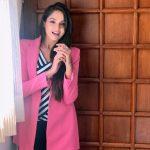 Asmita Sood, Victory 2 Actress, pink dress