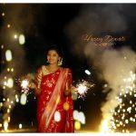 Athulya Ravi, diwali, crackers