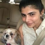 Chinmayi, pe animal, dog