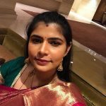 Chinmayi, saree, tradational, selfie