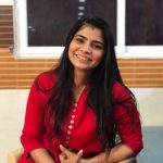 Chinmayi, smile, red dress, rare