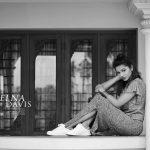 Delna Davis, black and white, admirable