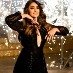 Ileana D'Cruz, wallpaper, black dress, hips