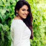 Indhuja, fantastic, white dress