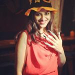 Indhuja, stylish cap, seductive