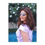 Kajal Aggarwal, glass, hd, wallpaper, tamil actress