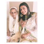Kajal Aggarwal, grandma, family, smile