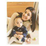 Kajal Aggarwal, smile, kids, sister baby