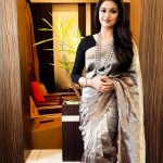 Keerthi Suresh, instagram, saree, best