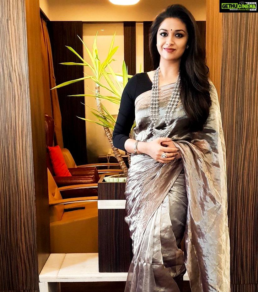 suresh saree keerthy latest actress keerthi instagram tweet