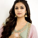 Keerthi Suresh, promotion, hd, wallpaper, pink dress