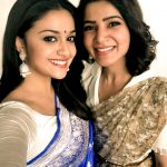 Keerthi Suresh, samantha, saree, actress, gils