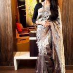 Keerthi Suresh, unseen, rare, saree