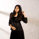 Manjima Mohan, unseen, photoshoot, black dress, Zam Zam
