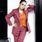 Nithya Menen, Kolambi Heroine, modern dress