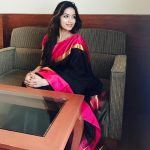 Nivetha Pethuraj, best, saree, cute, tamil actress