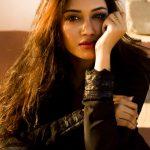 Nivetha Pethuraj, hd, black dress, wallpaper