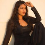 Nivetha Pethuraj, photoshoot, black dress, hd