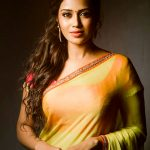 Nivetha Pethuraj, saree, hd, traditional look, tamil actress, wallpaper