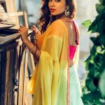Nivetha Pethuraj, saree, hd, wallpaper, actress