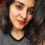 Nivetha Thomas, face, hair style, selfie