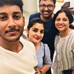Nivetha Thomas, family, mom, actress life