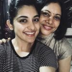 Nivetha Thomas, mom, amma, girls