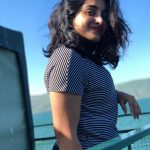 Nivetha Thomas, sea, vacation, telugu