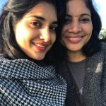 Nivetha Thomas, selfie, mom, mummy