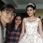 Oviya, Muni 4 Kanchana 3 Actress, angel dress