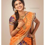 Oviya helen, Photo Shoot, half saree