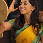 Parvatii Nair, saree, actress, shooting, parvathy