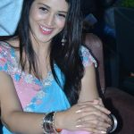 Priyanka Jawalkar, Taxiwala actress, press meet, saree, smile