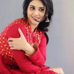 Priyanka Jawalkar, Taxiwala actress, red dress, photoshoot