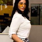 Priyanka Jawalkar, white dress, event, tollywood