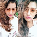 RX 100, Payal Rajput, glass, collage