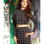 RX 100, Payal Rajput, hd, cute, black dress