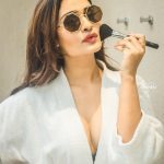RX 100, Payal Rajput, white dress, glamour