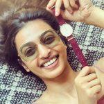 Radhika Apte, The Ashram Actress, red watch, smile