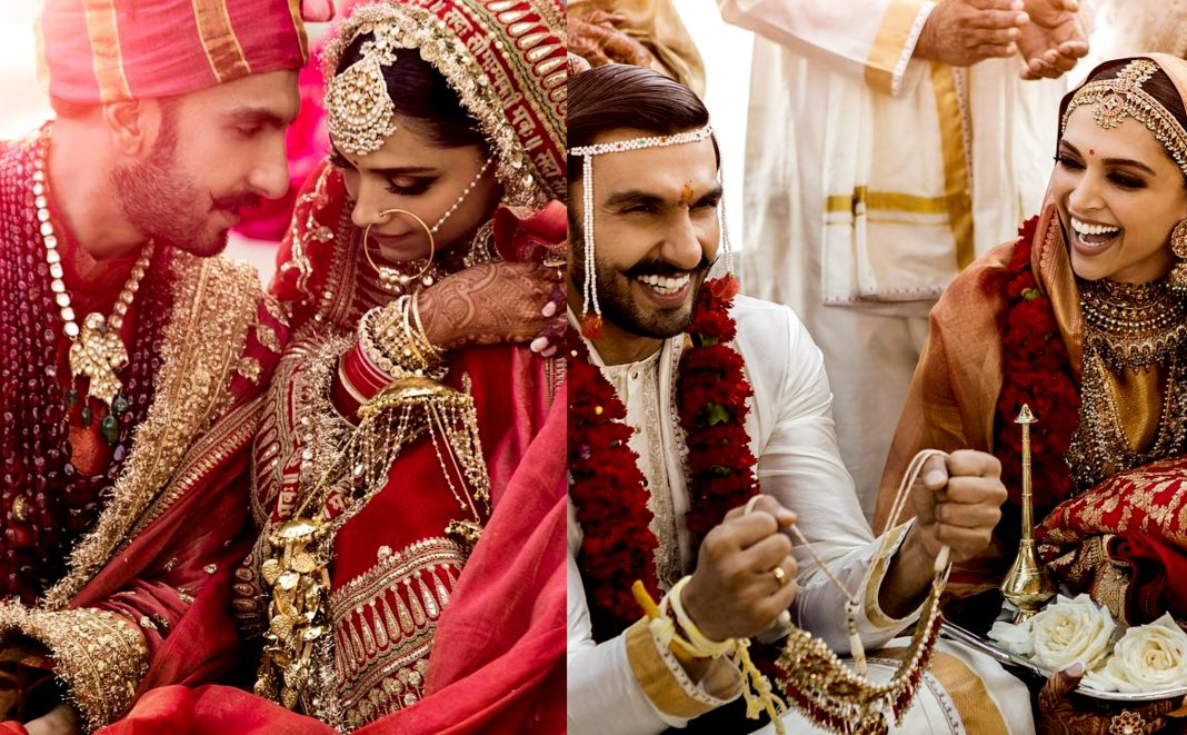 Ranveer Singh, Deepika Padukone wedding, 2018, hd, wallpaper, marriage