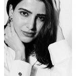 Samantha Akkineni, photoshoot, black & white