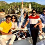 Samantha Akkineni, tour, vacation, nagarjuna family