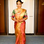 Suja Varunee, ShivaKumar, Wedding, actress, suja, saree